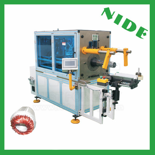 Automatic stator winding inserting machine