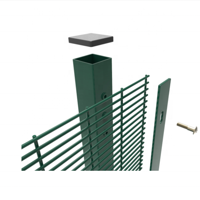 High Security Fence galvanized