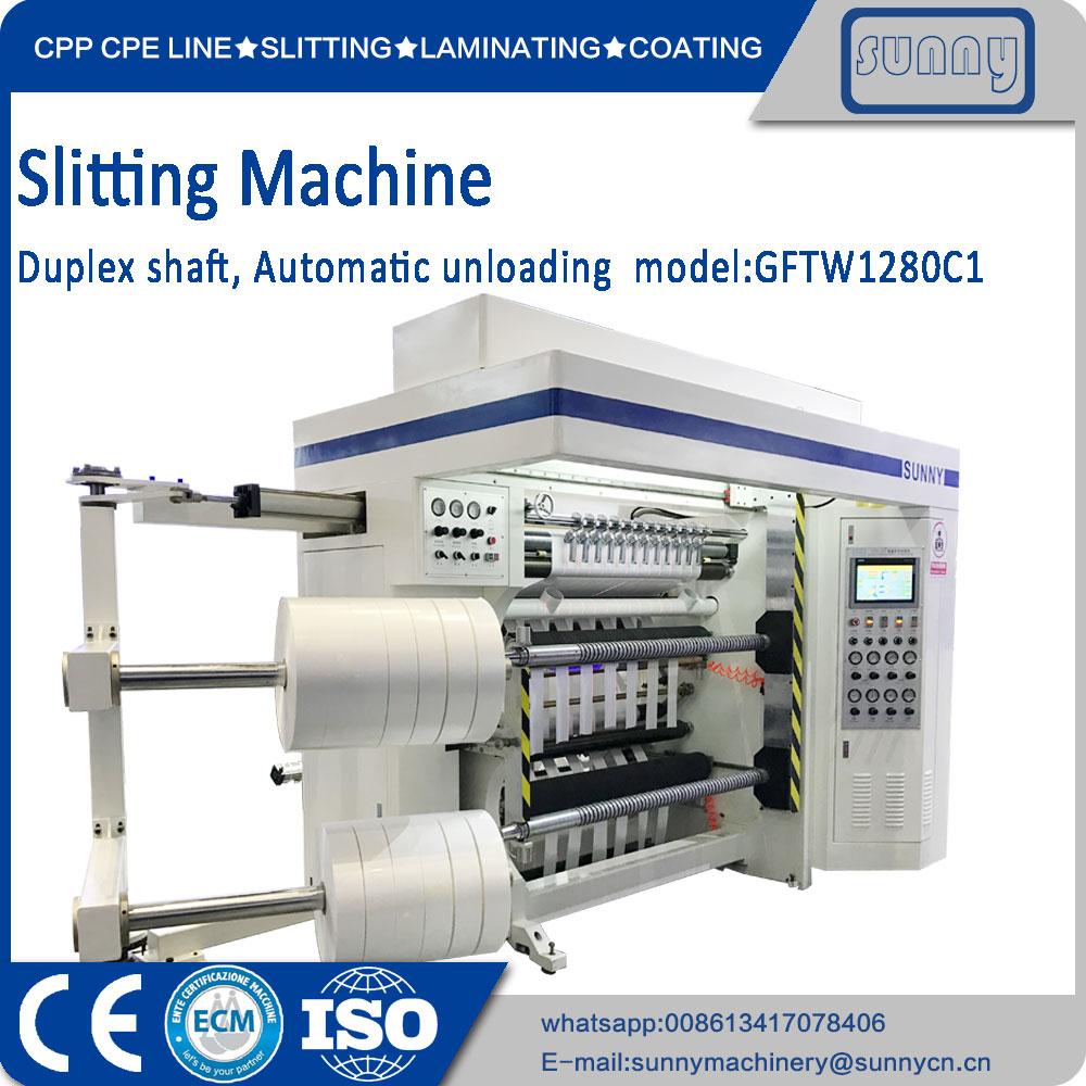 Duplex Slitting Rewinding machine