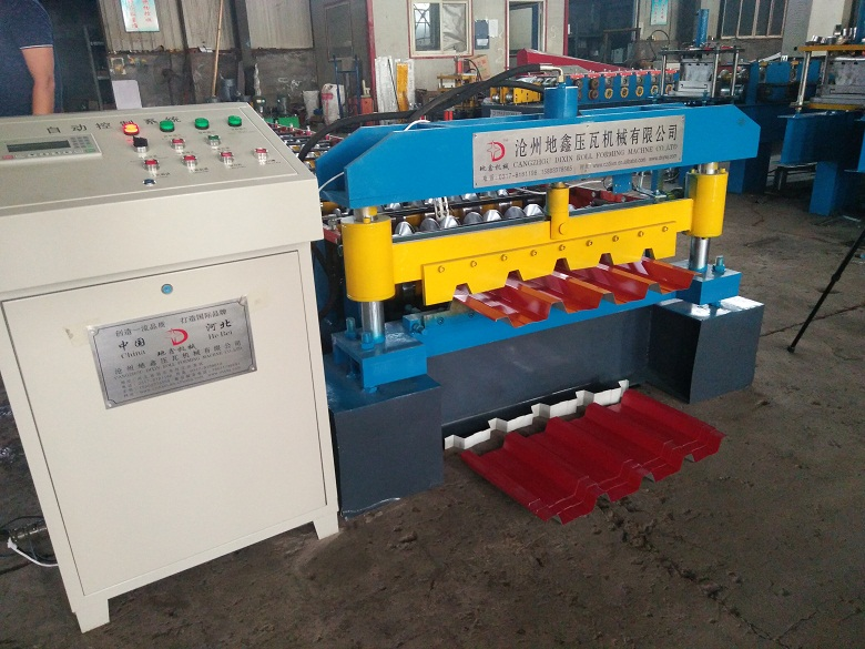 Metal steel sheet ibr roll forming machinery