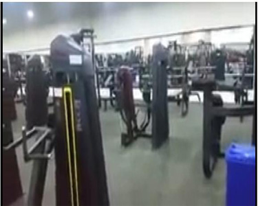 Ganas gym in Iraq,MT-7000 Precor series gym equipment