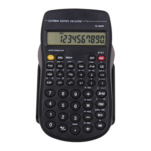 10 digits students scientific calculator HY-2086
