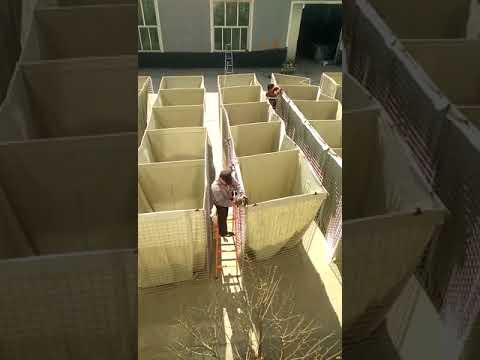 HESCO BARRIER working video