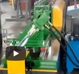 double furring roll forming machine