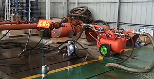 pneumatic cleaning and dredging pump -4