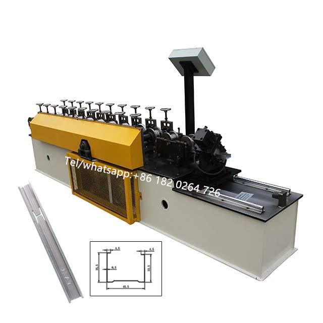 C Channel Roll Forming Machine With Punching Device