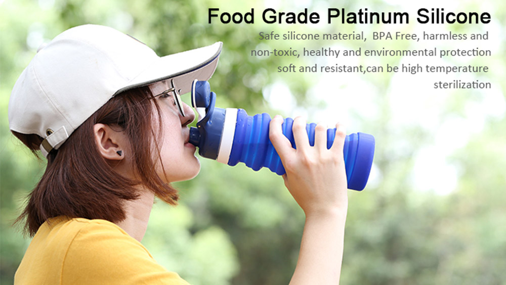 Collapsible flexible water bottle S7