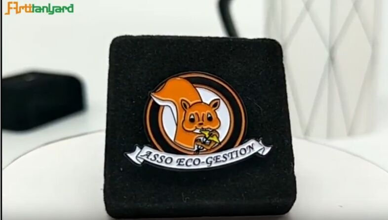 Squirrel Custom Logo Badge With DIY shape