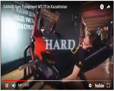 GANAS Gym Equipment MT-70 in Kazakhstan