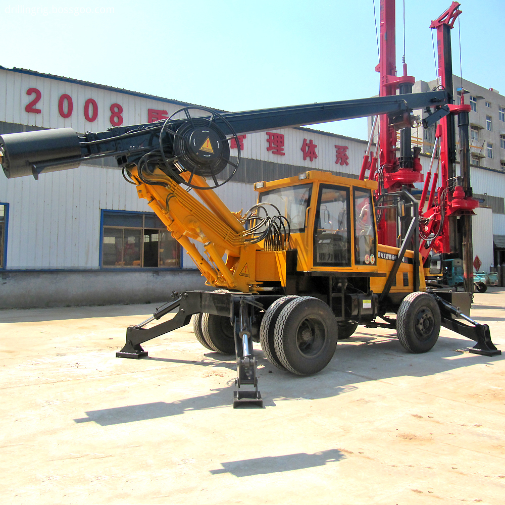 Soil Drilling Rig Machine