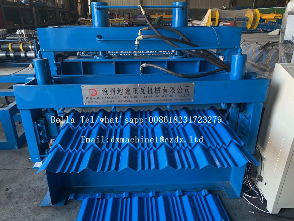 10 tons hydraulic decoiler with coil car