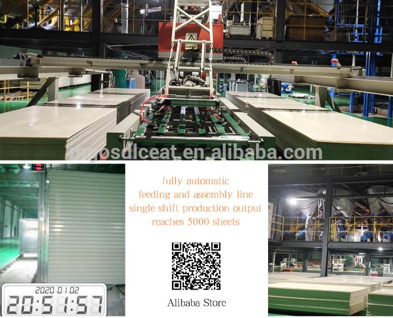GradeA Non-combustible Mgo Lining Board