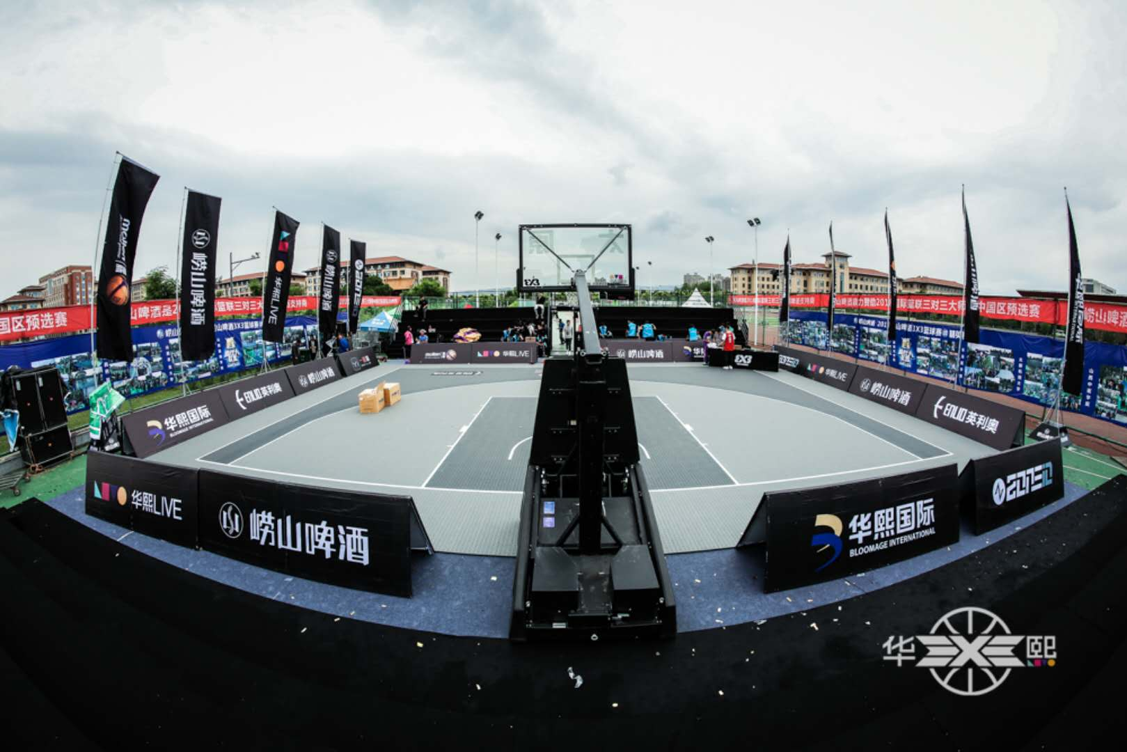 FIBA 3x3 Basketball court mat