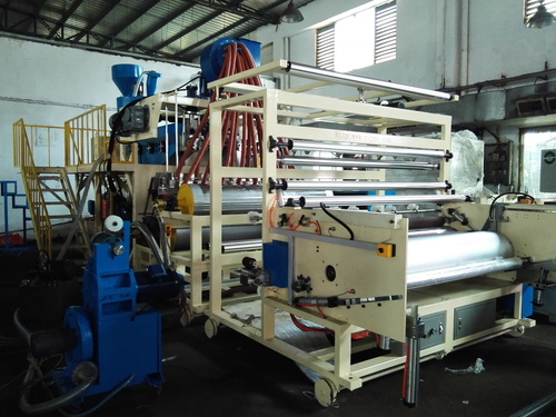 Three Layers PE Cast Film Making Machine