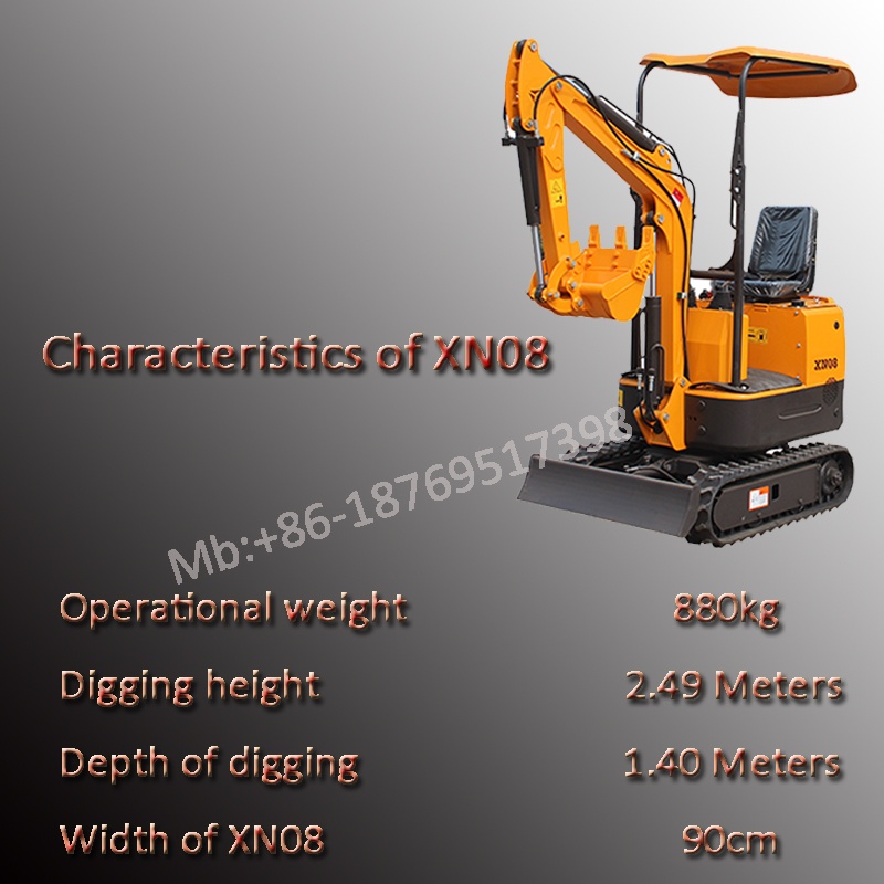 excavator 1 ton