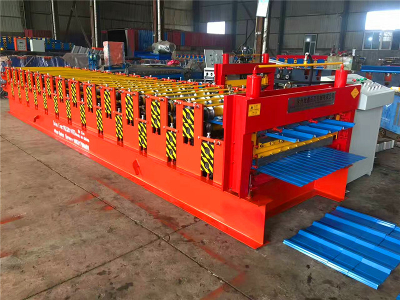 double layer roofing sheet forming machine