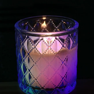 cheap magic craft candles in glass/jar