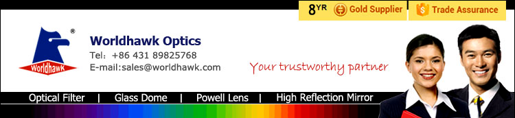 Hot sales optical H-K9L Glass Laser line powell lens