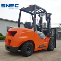Mitsubishi engine 3.5ton china SNSC forklift to Ecuador~