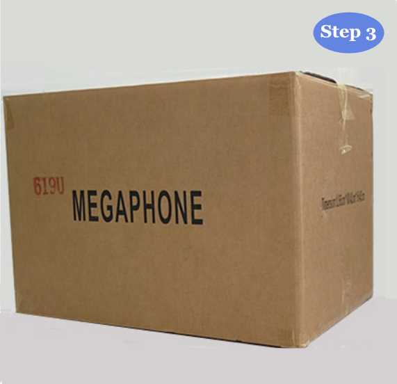 20w electrical megaphone with ABS material