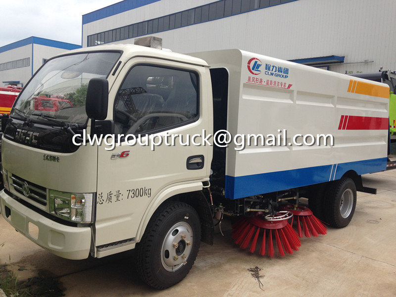 CLW GROUP TRUCK Dongfeng Duolika Road Sweeper truck