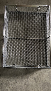 Wire Mesh Basket with Handle