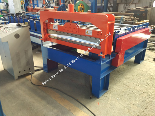 Automatic Steel Panel Flatting -- Slitting -- Cutting Machine