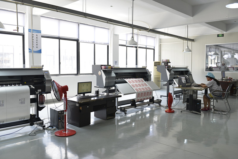 detail picture for production digital printing machine