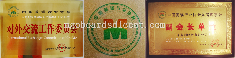 White Mgo Decorative Wood Grain Ceilings