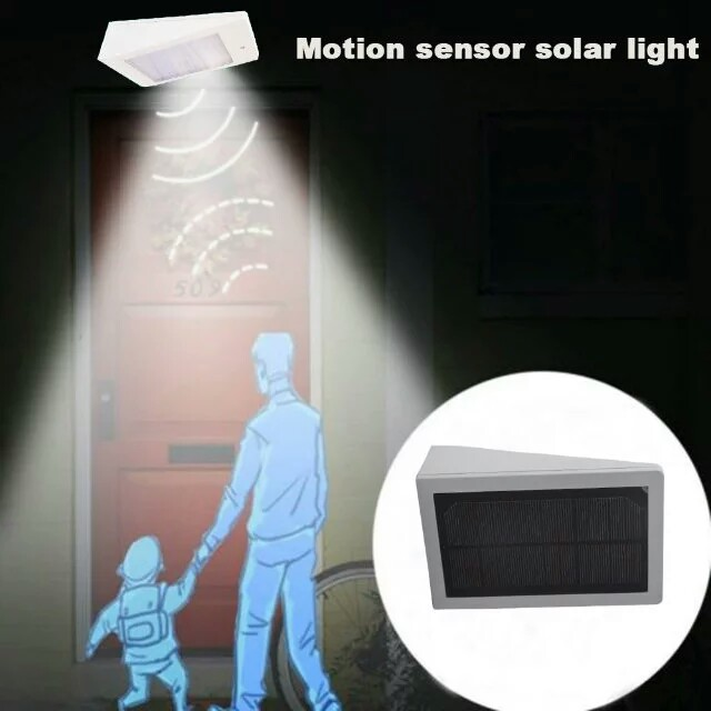 Solar LED Light with microwave sensor