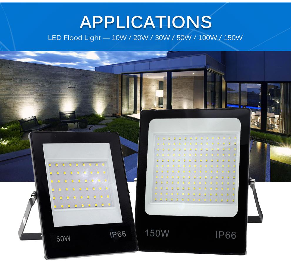 LED Flutlicht 220V 14
