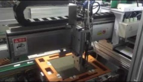 Automatic screw machine for led module