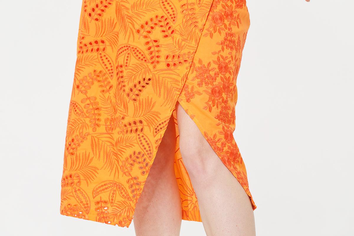 Embroidery sets Split skirt