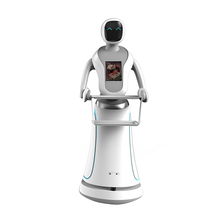 Railless waiter robot in India restaurant