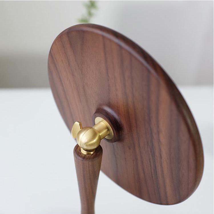 wood dressing table mirror