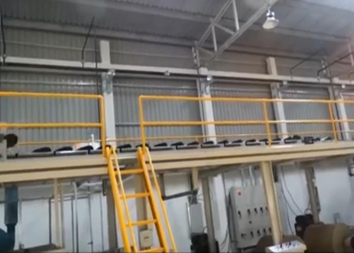 Automatic 5 ply production line