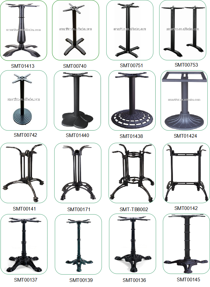 bases for glass tables