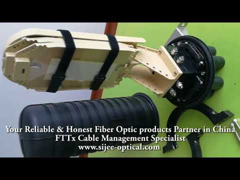 288 Fibers Dome Type Fiber Optic Splice Closure  FOSC with top quality