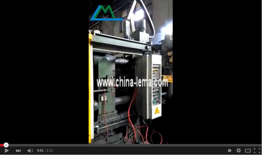 Full automatic die casting process