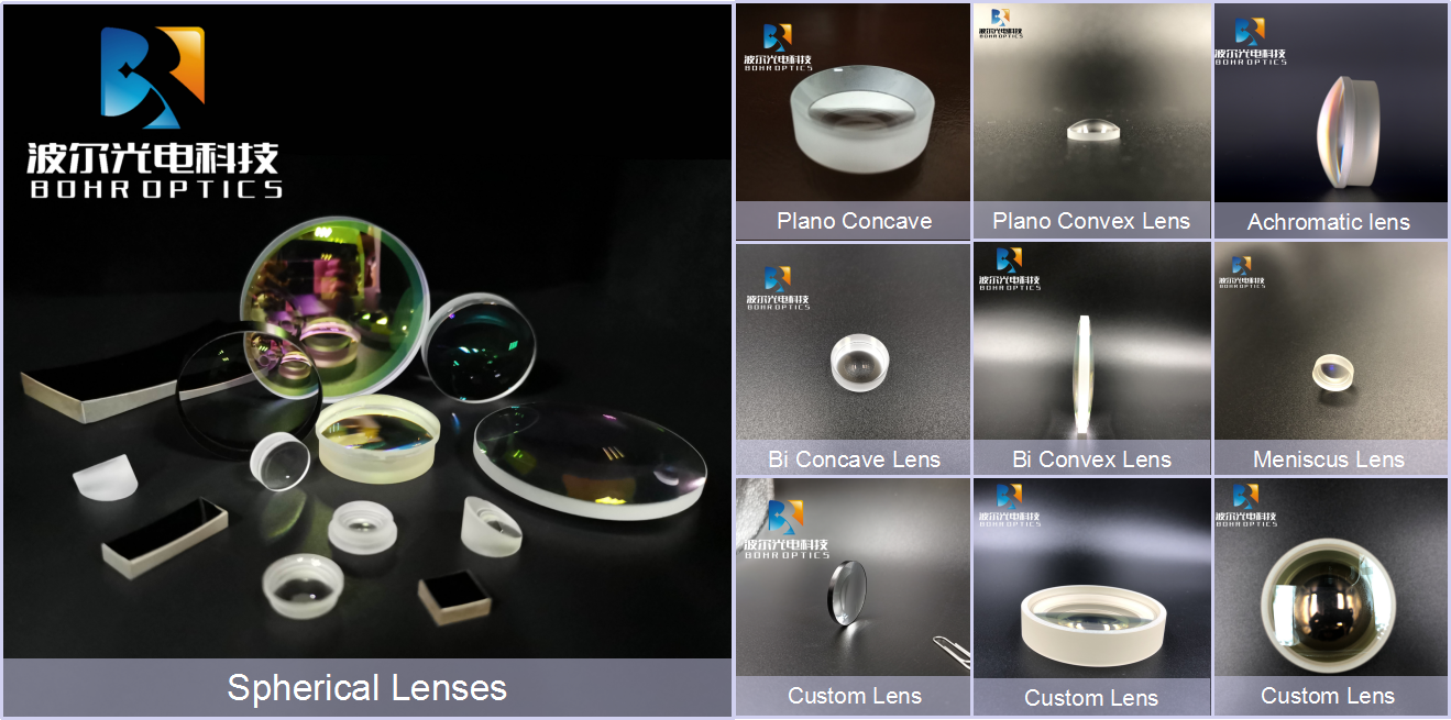 RTS 3-30mm bi convex lenses H-K9L N-BK7 glass optical double convex lens