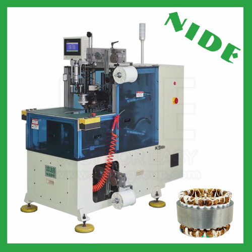 Stator coil lacing machine
