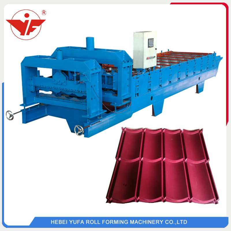 800 glazed tile roll forming machine for Indonesia