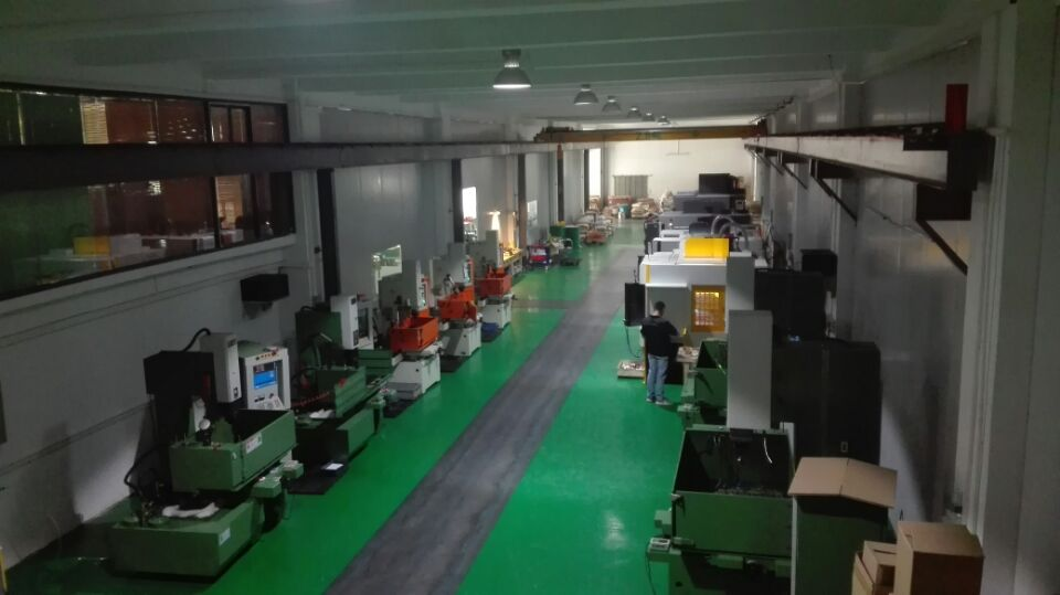 machined department