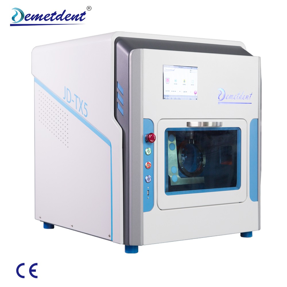 TX5 5-Axis Multifunctional CAD CAM Dental Milling Machine for Sale