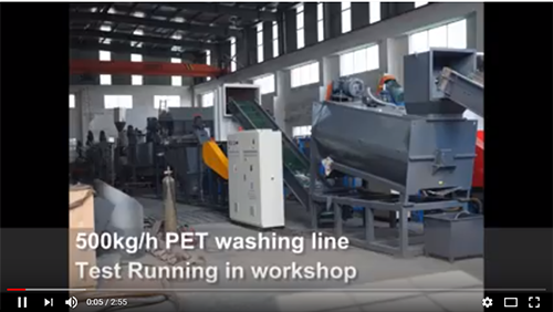 PET washing line