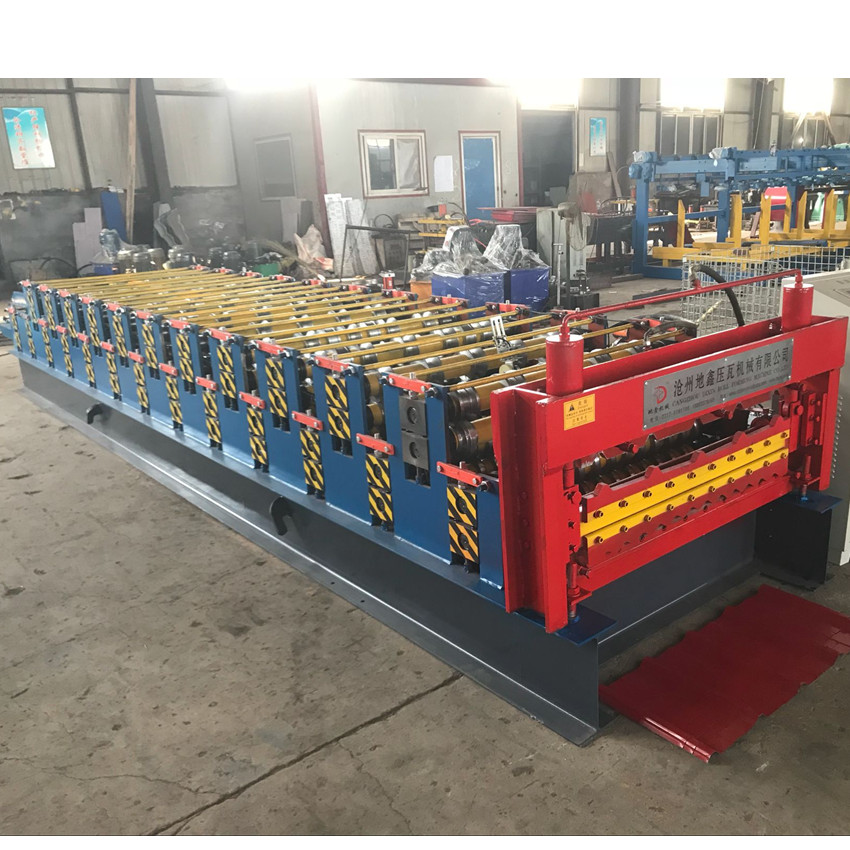 double layer tile making machine