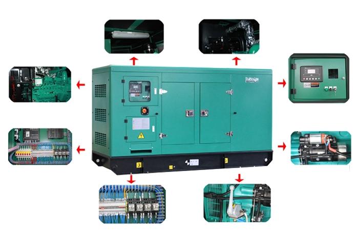 diesel generator silent