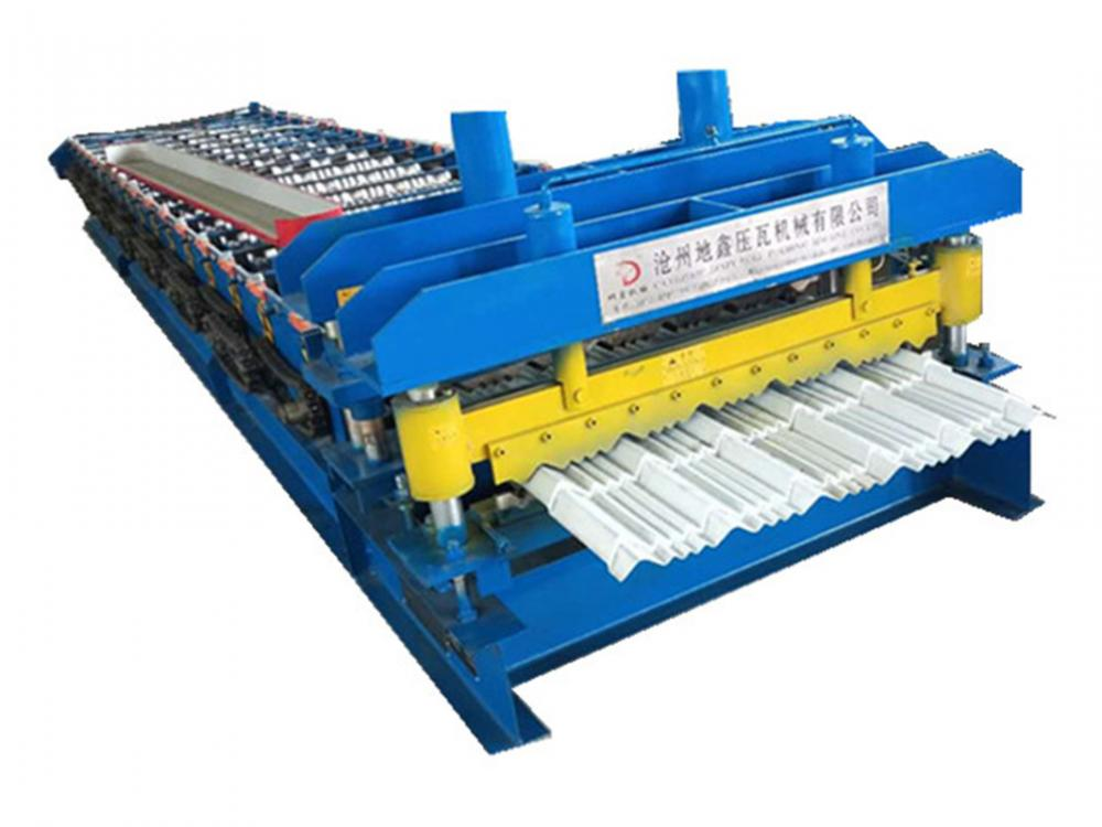 glazed sheet roll forming machine