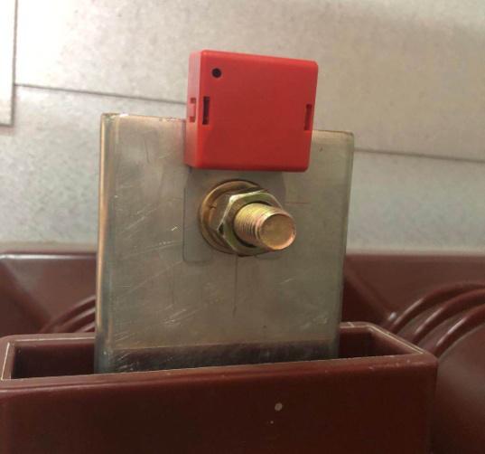wireless temperature sensor for cabinet
