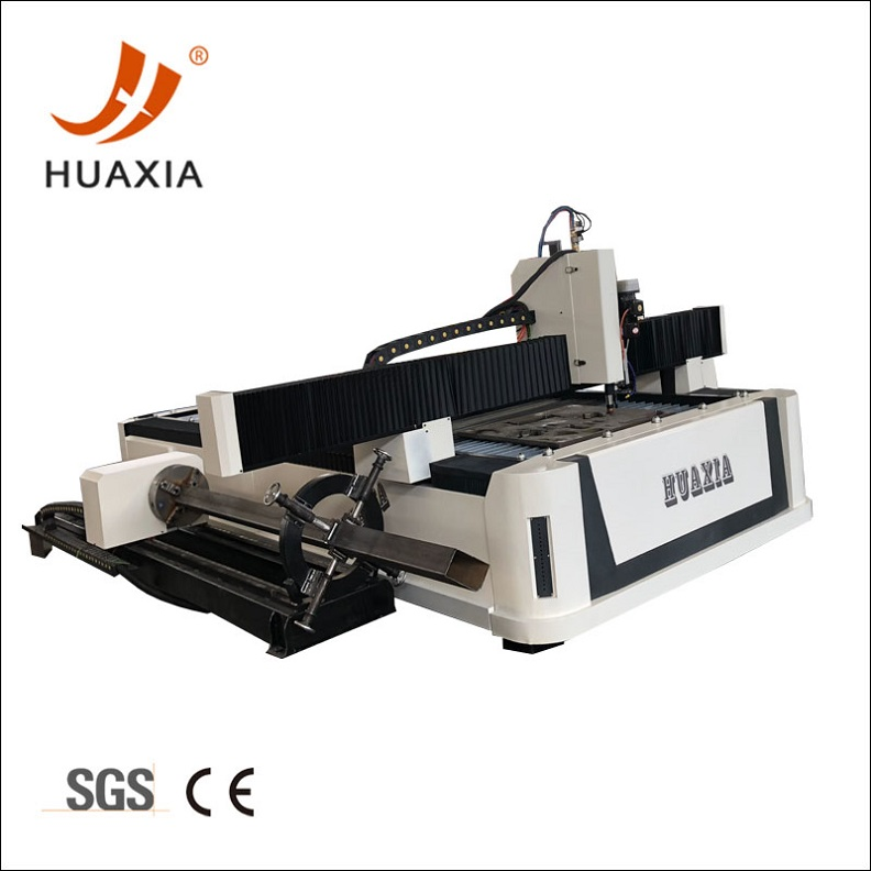4 axis Square pipe plasma cutting machine
